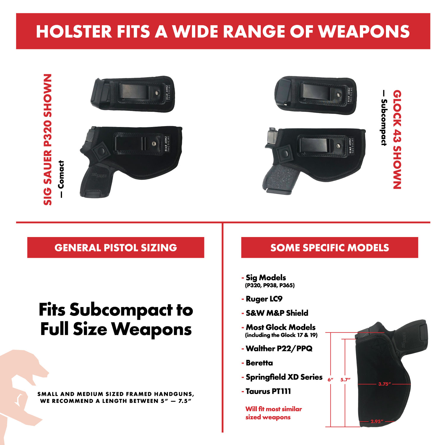 IWB Holster & Mag Pouch Combo